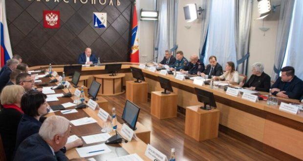 В Севастополе - режиме повышенной готовности
