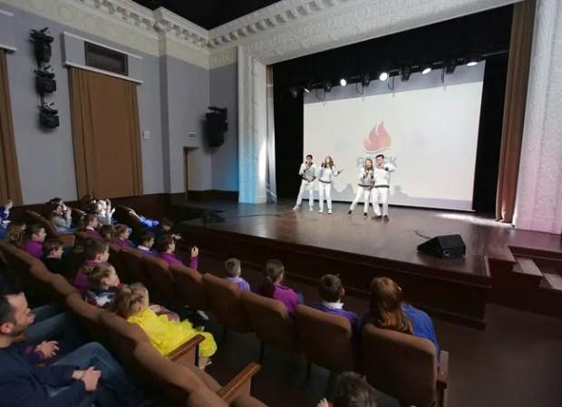 В «Артеке» прошел фестиваль буктрейлеров