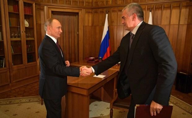 Владимир Путин встретился с Сергеем Аксёновым. О чем говорили Президент России и Глава Крыма