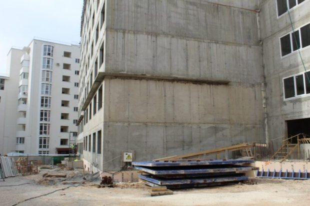В Севастополе возобновлено строительство многоквартирного дома для реабилитированных