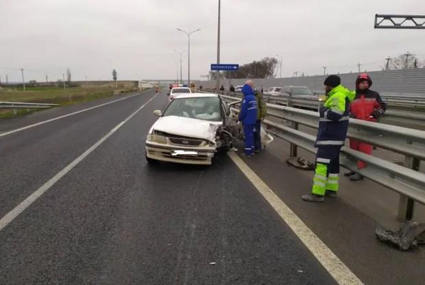 Полиция выясняет обстоятельства ДТП на трассе «Таврида»