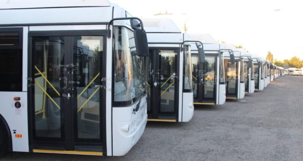 Общественный транспорт в Крыму работает в особом режиме. Одна из мер профилактики коронавируса