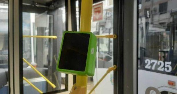В Симферополе безналичная оплата проезда введена ещё на 33 единицах транспорта