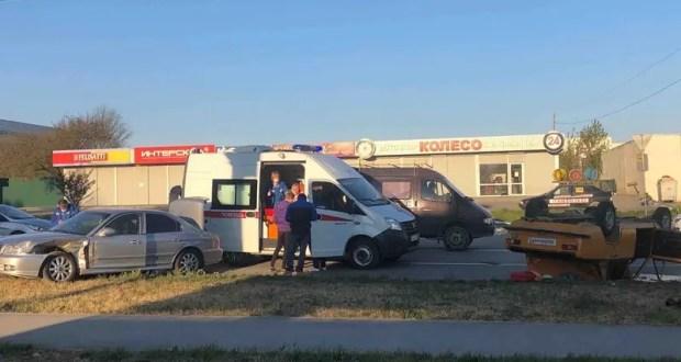 Солнышко вышло… начались «весенние» ДТП. Авария в Симферополе