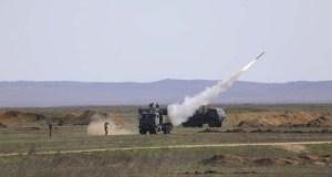 Ракетные стрельбы на полигоне Опук в Крыму