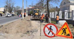 В Севастополе начался капитальный ремонт улицы Льва Толстого
