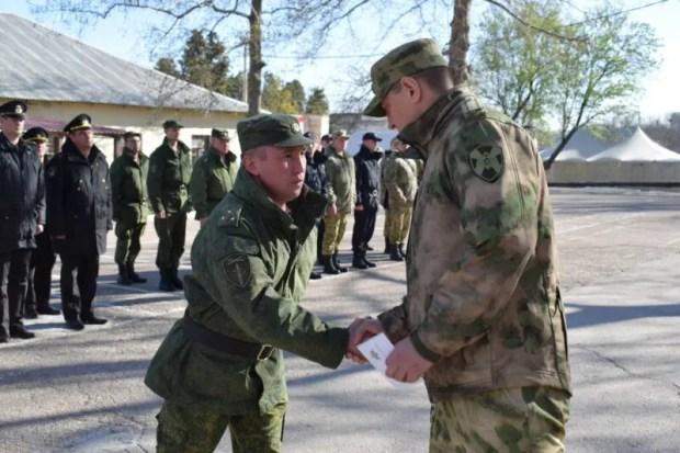 Старший лейтенант севастопольского полка Росгвардии награжден медалью «За спасение»