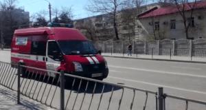 В Севастополе МЧС в звуковом режиме призывает население соблюдать меры самоизоляции