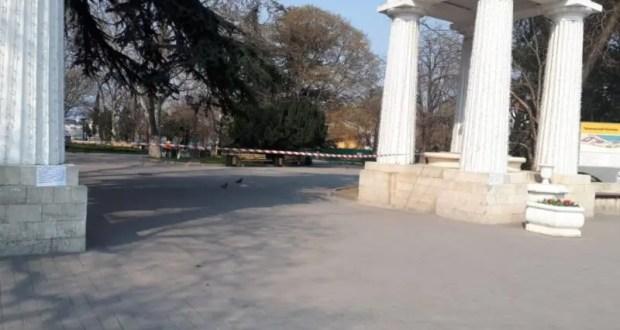 #Сидим дома! Как в Севастополе ограничивают доступ к общественным пространствам