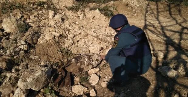 """В Севастополе в СТ """"Колос"""" обнаружили авиационную бомбу весом в 100 кг"""