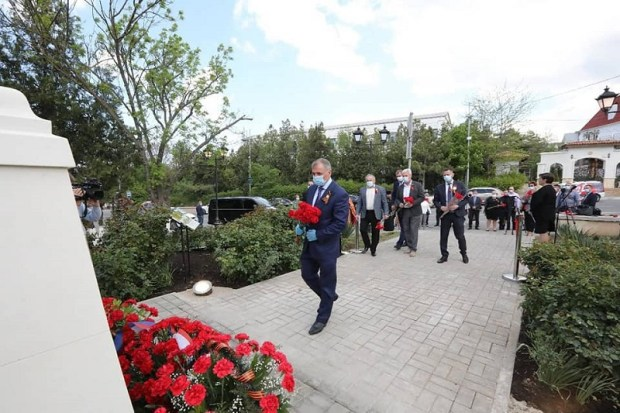 В Бахчисарае открыт памятник партизанам