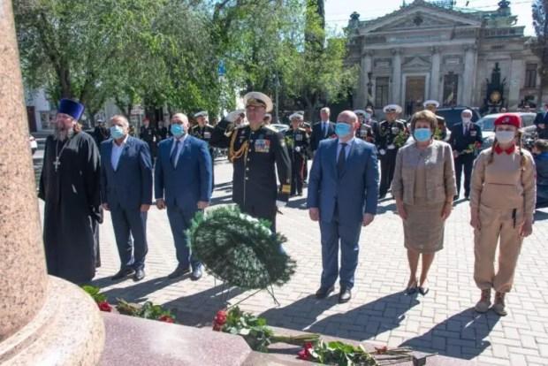 В Севастополе отметили День основания Черноморского флота