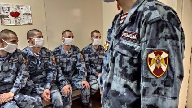 Росгвардейцы - доноры севастопольского «Центра крови»