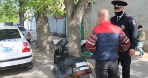 В Евпатории проверяют «байкеров»