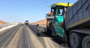Дорожники продолжают строительство трассы «Симферополь – Евпатория – Мирный»