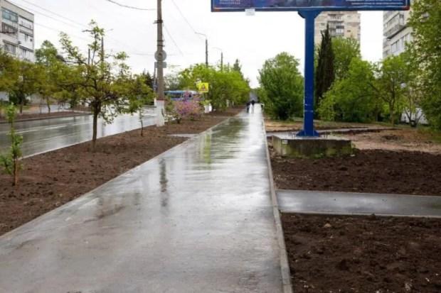 В Севастополе завершили ремонт Проспекта Победы