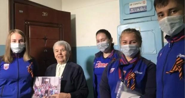 «Артек» и Следственный комитет России поздравили ветеранов с 75-летием Победы