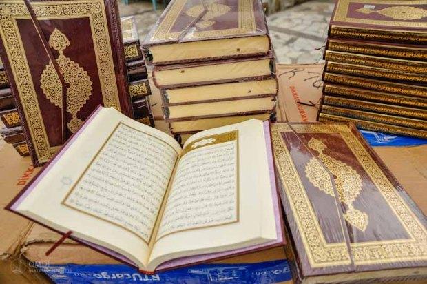Мусульмане Крыма получили в подарок 4 тысячи экземпляров книги Коран