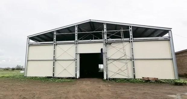 В Джанкойском районе строится овощехранилище на 2,5 тысячи тонн