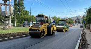 На въезде в Ялту продолжаются дорожные работы