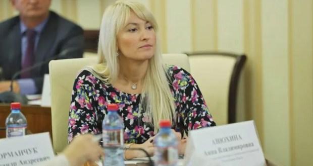 Официально: Сергей Аксёнов назначил Анну Анюхину на должность вице-премьера Совмина РК