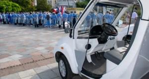 На набережной Ялты будут работать электромобили