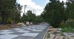 Как идет ремонт Екатерининского сада в Симферополе