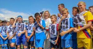 Министр спорта Республики Ольга Торубарова посетила Академию футбола Крыма