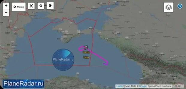 Непрошенных авиа-гостей пришлось «отгонять» от Крыма истребителю Черноморского флота