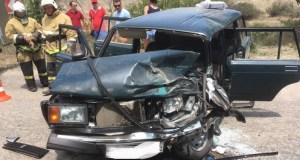 ДТП под Феодосией: ВАЗ врезался в рейсовый автобус