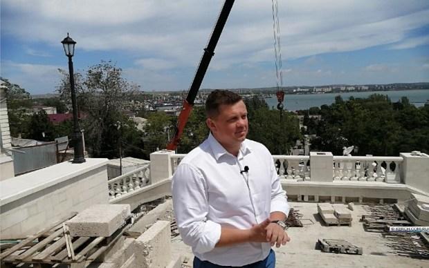 Как идет реконструкция Митридатских лестниц в Керчи