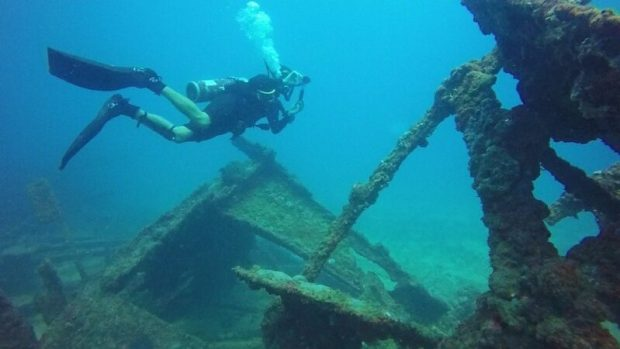 К июльскому курортному сезону в Судаке решили удивить приезжих туристов… древнегреческой галерой