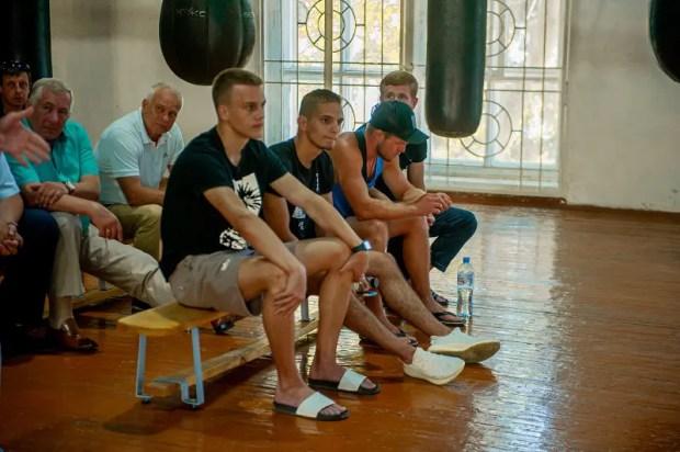 Лидер ОД «Доброволец» Дмитрий Голиков обсудил развитие бокса в Севастополе
