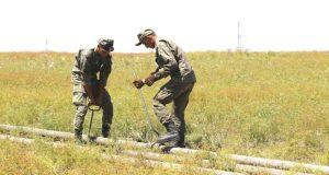 Российские военные строители – спорые ребята: уже проложено 50 км труб водовода на Симферополь