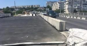 Не сложилось. В Севастополе мост через суходол на ул. Пожарова в июне не сдали