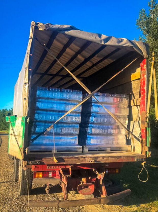 Девять тысяч литров «нелегального пива» не довезли в Крым
