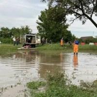 В Белогорском районе ликвидируют последствия затопления
