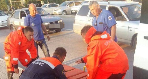 Инцидент в Феодосии: мужчина упал с моста