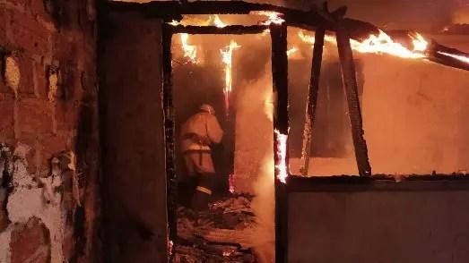На пожаре в Кировском районе Крыма погиб человек