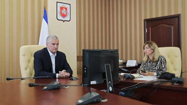 Онлайн пресс-конференция Сергея Аксёнова: о готовности туристической отрасли Крыма к сезону и не только