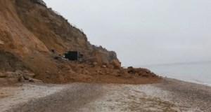 Внимание: на диких пляжах Крыма - опасно! Активизировались оползни и обвалы
