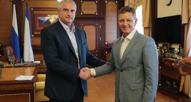 Глава Крыма и губернатор Владимирской области обсудили сотрудничество между регионами