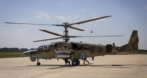 Экипажи боевых вертолетов ЮВО уничтожили самолеты условного противника на аэродроме