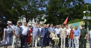 В Севастополе отметили День ветеранов боевых действий