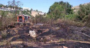 Севастопольские огнеборцы за день три раза тушили пожары на открытой территории