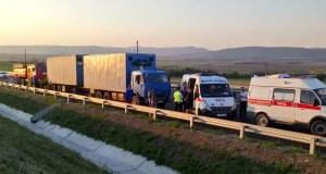 Прокурор Республики Крым находится на месте ДТП, в результате которого погибло 9 человек
