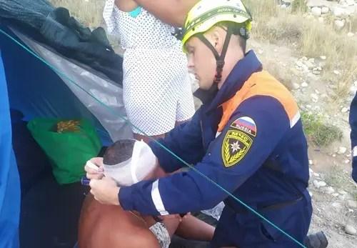 ЧП в Феодосии: водитель гидроцикла не заметил дайвера