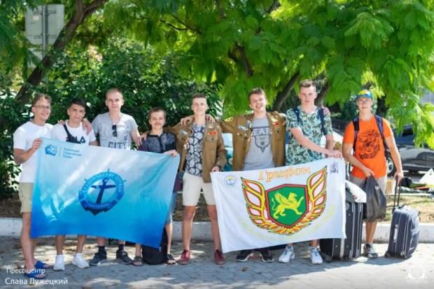 Члены студенческих отрядов Севастополя отправились на Зональную студенческую стройку «Лахта-центр»