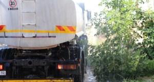 Автоцистерны, готовящиеся развозить воду в Симферополе и районе, будут чистыми