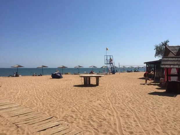 В минкурортов Крыма рассказали много хорошего пляжах Керчи